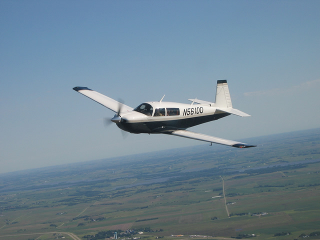 New Mooney Air-to-air